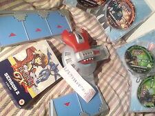 yu-gi-oh 1996 battle city duel disk fully working & GX dvd 6 disc box set