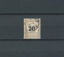 TAXE - 1917 YT 49 - 20 c. sur 30 c. bistre