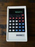 Executron 817D Very Rare Vintage Electronic Calculator