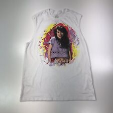 """Saved By The Bell """"Kelly Kapowski"""" Tank Top Size M White Apple Junction # 405"""