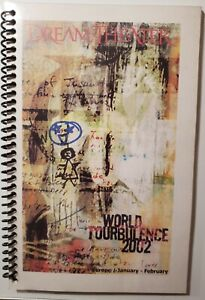 DREAM THEATER AUTHENTIC TOUR ITINERARY World Tourbulence 2002
