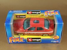 [PH3-47] BBURAGO BURAGO 1/43 STREET FIRE ALFA ROMEO 156 VIGILI DEL FUOCO 115 NIB