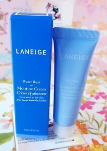 Laneige Water Bank Moisture Cream for Normal to Dry Skin .2 Oz / 8 mL New in Box