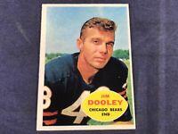 O4-10 FOOTBALL CARD - JIM DOOLEY CHICAGO BEARS - 1960 TOPPS - CARD #15