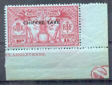 NOUV HEBRIDES 1925 TT 5 ** POSTFRISCH ECKRAND(D3772