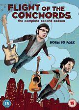 Flight of The Conchords Season 2 DVD 2009 Zealand Kiwi Cult Comedy TV Series