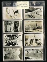 Wills's Senior Cigarette Cards 1937 Winter + Sports Scenes 50 Card Collection