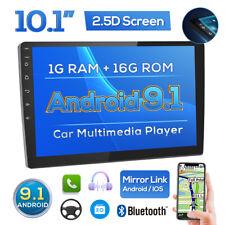 "10.1"" 2 Din 1G+16G Radio de coche Android 9.1 GPS WiFi MP5 USB FM Bluetooth"