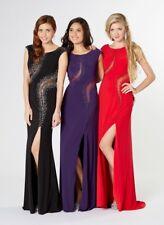 Tiffanys Elle ball gown prom Dress Black size 2 BNWT