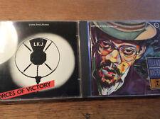 Linton Kwesi Johnson [2 CD Alben] Forces of Victory +  Reggae Greats