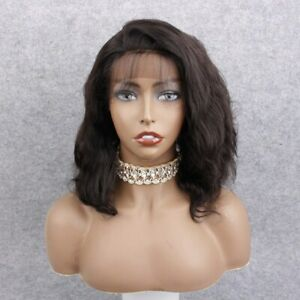"""Discount wig!! Smaller cap Full lace wig 14""""  Body Wave 100% Indian Remy Hair"""