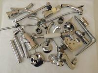 Vtg Metal Chrome Plumbing Pieces For Assemblage Art & Craft Huge 11 lb Lot (#2)