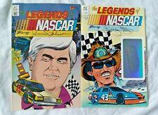 COMICS The Legends of NASCAR Richard Petty #2 +Junior Johnson #7 Vortex Comics