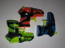 3 Assorted Water Pistols - Nice party bag fillers - Child Birthday Party fun