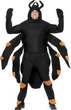 Mens Ladies Giant Spider Halloween Animal Stag Do Fancy Dress Costume Outfit
