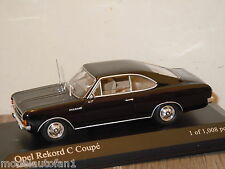 Opel Rekord C Coupe 1966 van Minichamps 1:43 in Box *16484