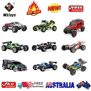 Wltoys 2.4G 4WD RC Cars High Speed Monster Truck  Buggy Car Remote Control RTR
