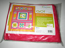 Accuquilt GO BIRD SONG QUILT KIT with COLORFUL 100% COTTON FABRIC