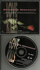 Queen FREDDIE MERCURY Love Kills 1992 USA PROMO DJ CD single MINT PRCD10235