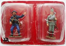 Figurine Hachette 1e Guerre Mondiale Chasseur Alpin + Jager Allemand 1915 Figure