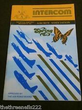 AIRCREW ASSOCIATION - INTERCOM - SPRING 1984
