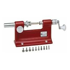 Hornady Bench Mountable Cam Lock Trimmer Reloading Includes 7 Pilots NEW - FREE