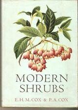modern Shrubs E p cox 1962 gardening  species genera