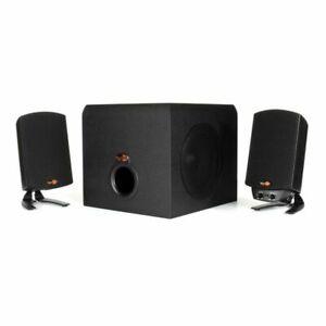 Klipsch ProMedia 2.1 THX Certified Computer Speaker System w/ Subwoofer New