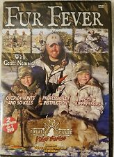 FUR FEVER with Geoff Nemnich 2 HUNTING programs 1 dvd coyote craze video series