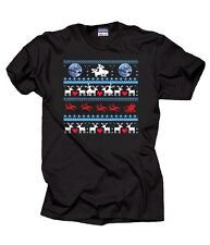 Christmas Ugly Sweater Moon Ride Moose Love T-Shirt Cool Christmas Gift