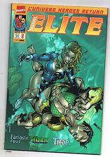 ELITE n°8 - MARVEL France Panini Comics - 2001. Thor, Fantastic Four. HULK