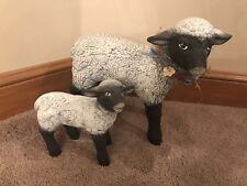 Vintage Ceramic Lamb Figurines