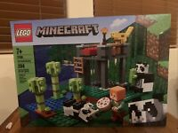 LEGO Minecraft The Panda Nursery 21158 Construction Toy 204 Pieces