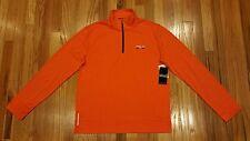 Polo Sport Ralph Lauren Mens Interlock Zip Pullover Shirt Sz L Orange THESPOT917