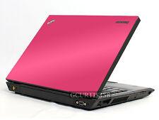 HOT PINK Vinyl Lid Skin Cover Decal fits IBM Lenovo Thinkpad T450 Laptop
