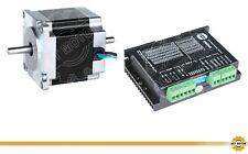 DE Free 1PC Nema23 Stepper Motor 23HS6620B 2A 56mm 180oz φ6.35mm+Driver DM542