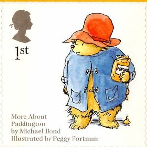 Paddington Bear - 800 x 1st Class New Unused Stamps + 800 Fun Stickers 40 sheets