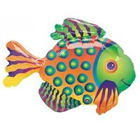 """33"""" Giant Tropical Fish Mylar Foil Balloon Party Decorating Supplies"""