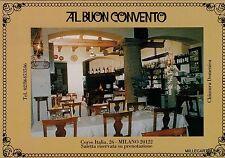 """# MILANO: Ristorante """"AL BUON CONVENTO""""  Corso Italia"""