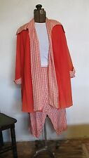 FABULOUS VINTAGE 1950s LUCY SWING COAT CAPRI PANTS HOSTESS LOUNGE OUTFIT M