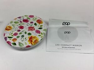 POP Sonic LED Compact Mirror Rose Floral