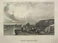 1834 Aufdruck Capt John Ross North West Passage ~ Umhang Margaret