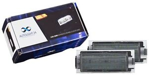 2 X Premium LED License Plate Light For 401 Renault Megane IV 4