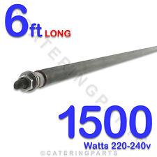 """He7215 72 """" / 6 pies de largo 1500 vatios 1.5 kw elemento de calefacción 220 240 Voltios Universal"""