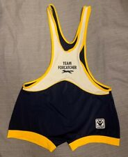 Foxcatcher Wrestling Singlet Movie Stock Adult XL - Dark Blue Rare