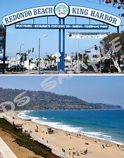 calif - REDONDO BEACH - Travel Souvenir FLEXIBLE Fridge MAGNET
