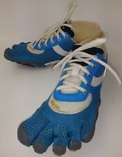Vibram SPEED Wos Shoes Five Fingers EU 38 Blue White Mesh Athletic Water 5755