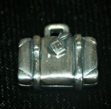 James Avery RETIRED Sterling Silver Suitcase Luggage Charm