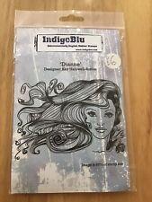 Indigoblu Dianne Unmounted Rubber Stamp