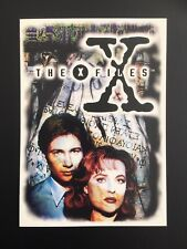 The X-Files : Series 1 Trading Card #0 (Oversized Promo Card) (Topps 1996)